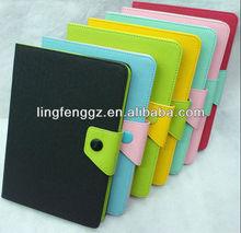 Good quality korea leather case for ipad mini