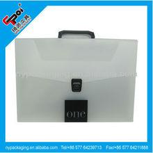 Factory a4 plastic clear file case/a4 document case