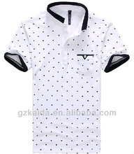Polo t-shirt for man the Polka Dot High quality OEM