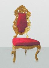 Antique Royal King Throne Chateau Hotel Chair H-003