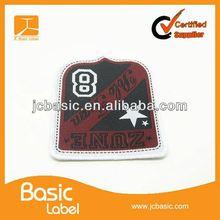 Cheap sport team wear woven patches wholesale