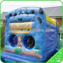 Zhengzhou DNL Joyful Bouncy Slide,fire truck inflatable bounce house