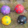 2014 new dog product,vinyl dog toy,soft vinyl ball