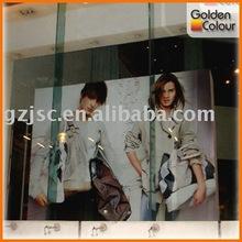 2012 Window advertising indoor banner printing service