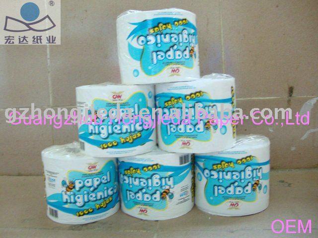 Papel higiênico tissue