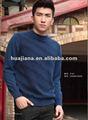 Luxo homens suéter de Cashmere puro / inverno bordado