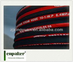 Zhuji xingyuan enpaker epdm high pressure high temperature rubber steam hose
