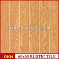Telha de madeira quadro 60 x 60 cm