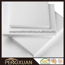 2015 hot sale soft plain 400 TC egyptian cotton bed sheet