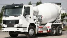 New Design sinotruk HOWO 6m3 concrete mixer truck/prime mover