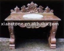 natural marble antique bathroom vanity