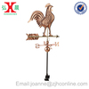 European Garden Ornament Copper Cock Weathervane