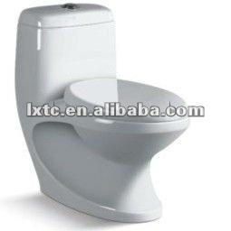 P- trampa y s- trampa de cerámica lavado de una sola pieza de baño