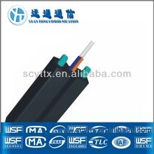 Telecom indoor small diameter 0.9mm Single Mode Simplex micro fiber optical cable