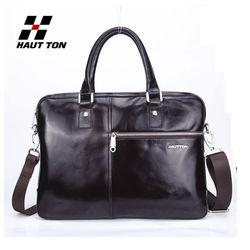new arrival 2014 genuine leather bag/man bag manufacturer