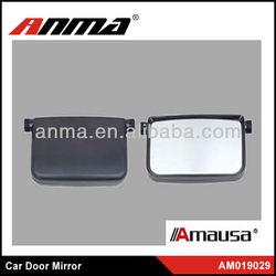 Nice chrome car door mirrors with led light,car hinged mirror doors