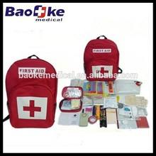 Earthquake disaster survival kit with emergency preparedness