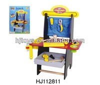tool toys play house wooden workbench HJ112811