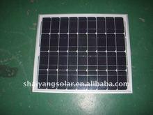 low price high quality battery 50w monocrystalline solar panel