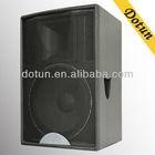 A single15 inch professional passive speaker/stage sound system/Passive speaker