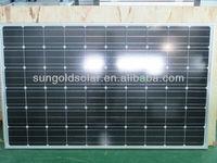 High power Monocrystalline 300w panel solar with good price