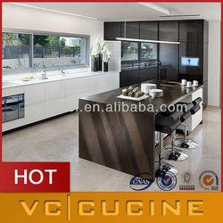 hot sale high quality mdf modern western style kitchen cabinet
