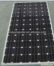 185W Mono-crystalline silicon solar panel factory