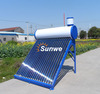 Preheated Copper Coil Heat Exchanger Solar Water Heater