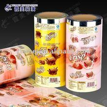 mini cracker packaging roll plastic film