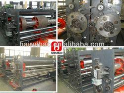 HRB-XF glass screen flexo ink printing press machine