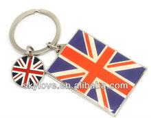 hot selling london souvenir keychain key chain