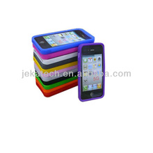 Glaze protective Silicone skin case for iphone 5S