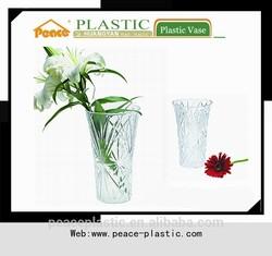 2014 Plastic Vase,crystal vase,flower pot for sale