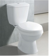 High Quality Sanitary Ware Two Piece Ceramic Toilet Bowl