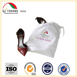 Customized drawstring shoe bag