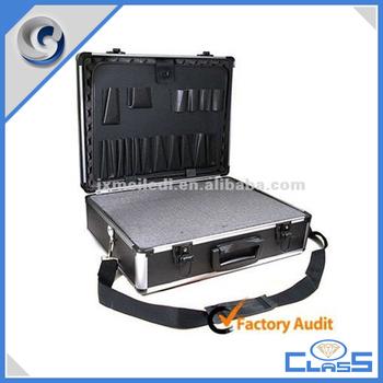 Extra Heavy Duty Black Aluminum Tool Box