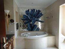Glass mosaic tile, swimming pool art, anti slip swimming pool tile