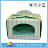 Fancy Custom food grade decorative paper cake box wholesale with pvc window