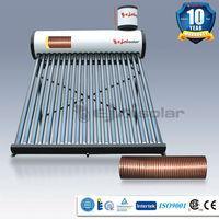 Best buy 150L copper coil pre-heated pressurized solar water heater solar geyser