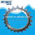 piezas de repuesto para excavadora de rueda dentada , grupo piñón hitachi de piezas del tren de aterrizaje, EX200-1 Excavadora con rueda de espigas