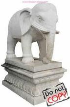 granite elephant sculpture