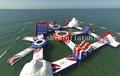 2014 heißer verkauf schlauchboot aquapark/riesigen wasserpark für erwachsene