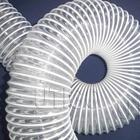 Flexible transparent PVC wire suction hose