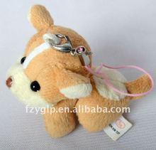 plush stuffed dog toy for key toys