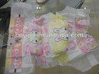 High quality Grade A Cloth-like backsheeet /Magic tape baby diaper