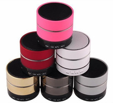 2015 hot sale low price high quality mini bluetooth speaker with fm radio, MIC handsfree, LED light, support USB&TF card