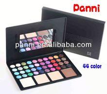 HOT SELLING! Pro 44 color makeup palette,eyeshdow&powder compact,cosmetics wholesale manufacturers