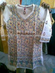 lucknowi chikan kurtis, cotton voile kurtis, chiffon embroidered kurtis