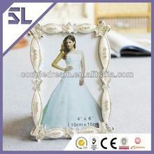 Wedding pewter pearl photo frame, Decorative Arabesque Wedding Decoration Picture Frames