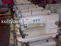 Siruba 818f utiliza/segunda mano/reacondicionados de un solo punto de cadeneta de la aguja de coser industrial de la máquina